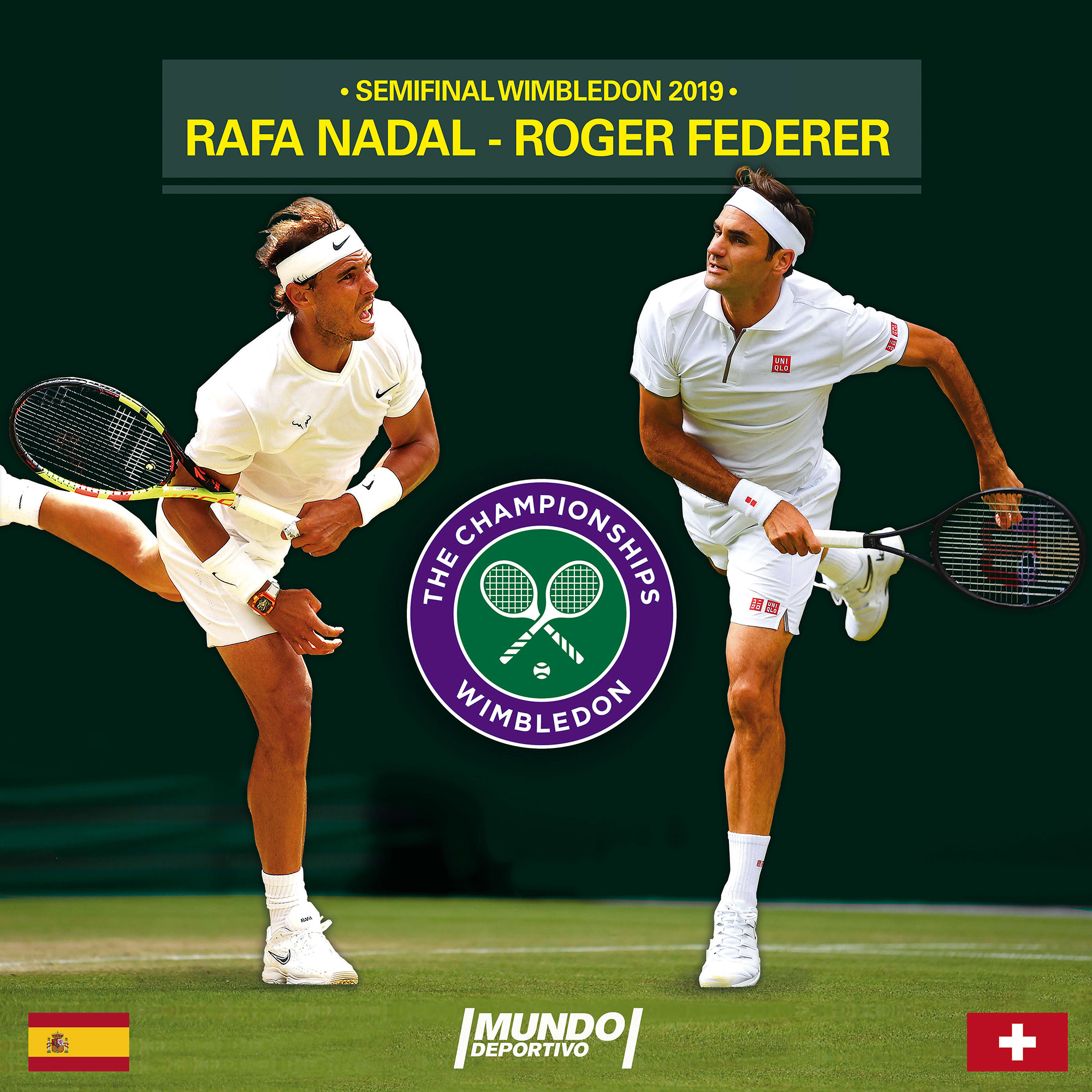 Rafa Nadal vs Roger Federer